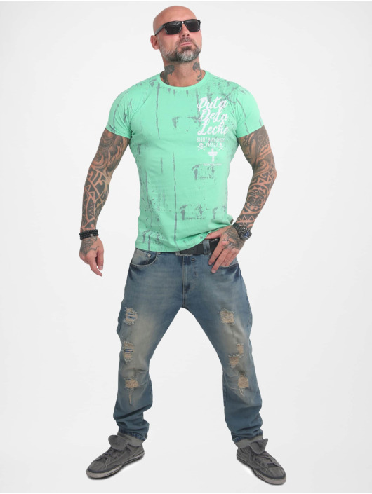 Yakuza T-skjorter Puta De La Leche turkis