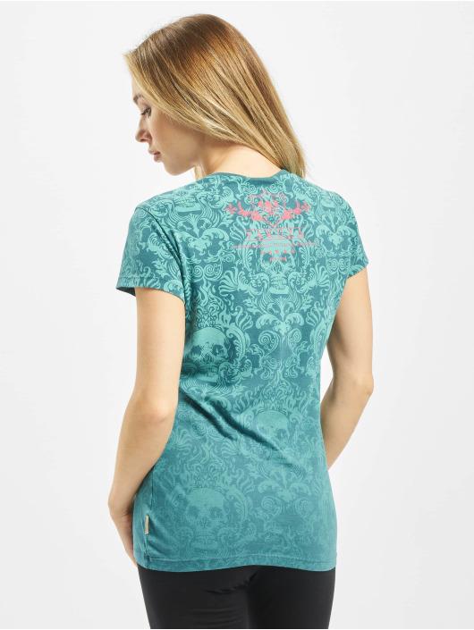 Yakuza T-skjorter Sick Pattern turkis