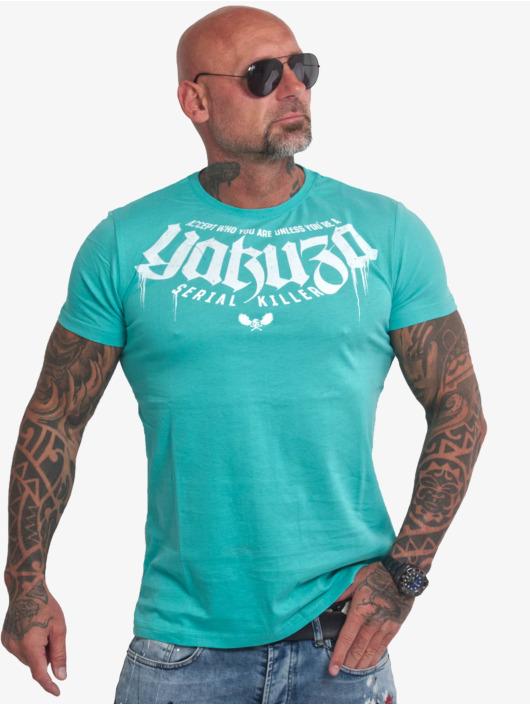 Yakuza T-skjorter Killer turkis