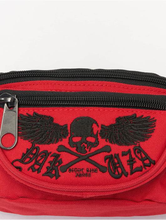 Yakuza Tašky Fyling Skull červený