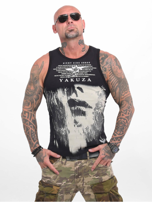 Yakuza Tank Tops Armed Angel èierna