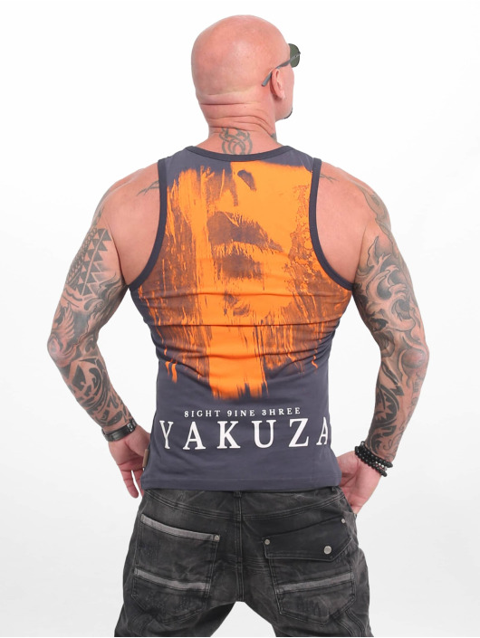 Yakuza Tank Tops Armed Angel grau