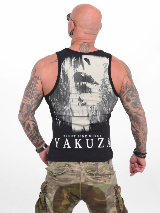 Yakuza Tank Tops Armed Angel negro