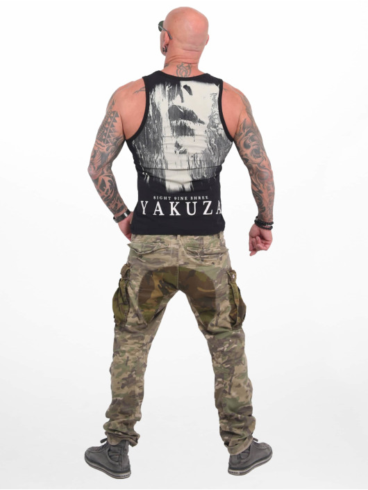 Yakuza Tank Tops Armed Angel schwarz
