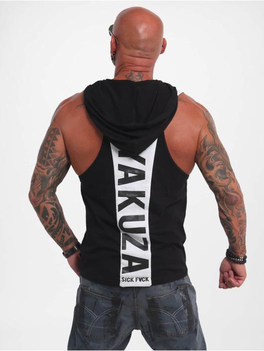 Yakuza Tank Tops Combat S&F Sport svart