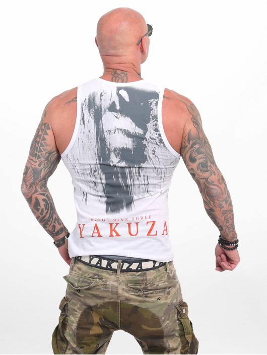 Yakuza Tank Tops Armed Angel white