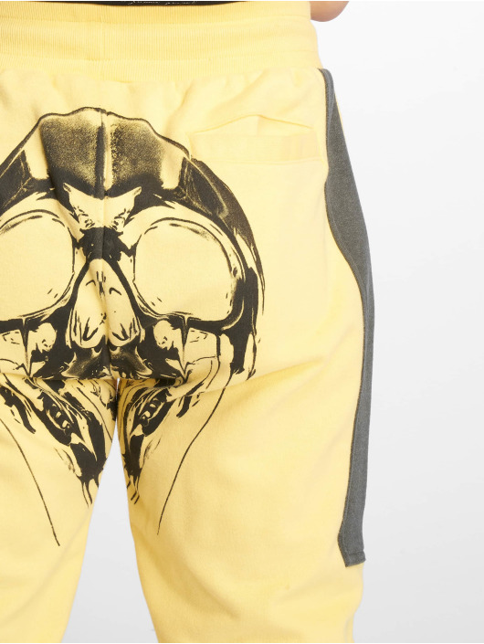 Yakuza tepláky Imperator Two Face žltá