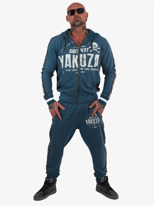 Yakuza tepláky Bad Side modrá