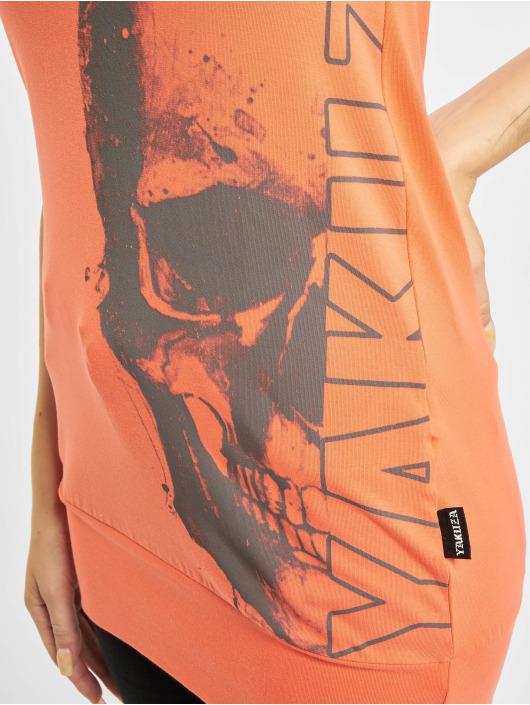 Yakuza Topper Dropping Skull Bandeau oransje