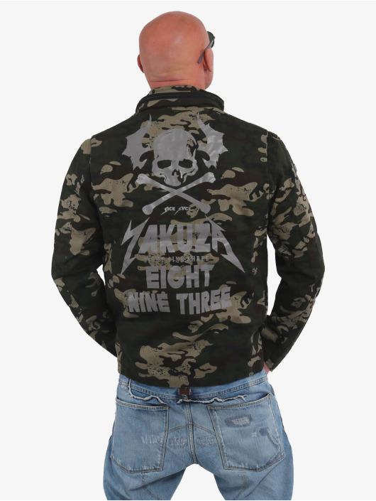 Yakuza Transitional Jackets Skull N Wings Military kamuflasje