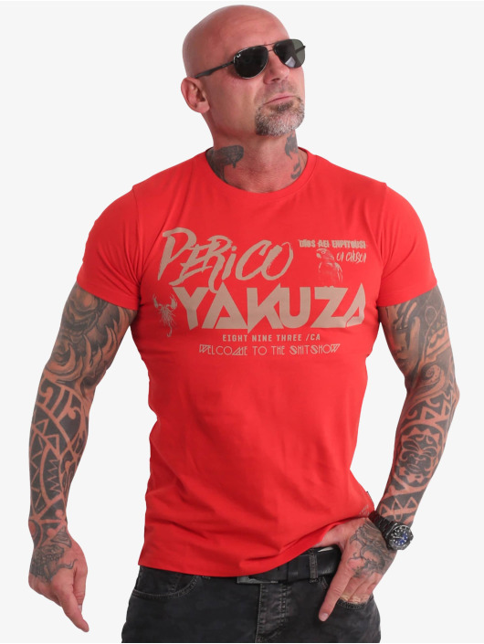 Yakuza Tričká Perico èervená