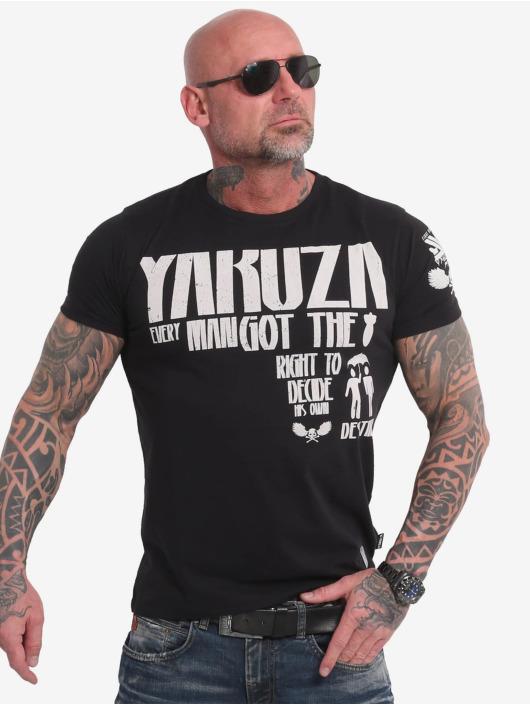 Yakuza Tričká Right To Decide èierna