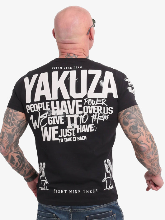 Yakuza Tričká Power Over Us èierna