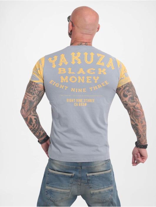 Yakuza Tričká Black Money šedá