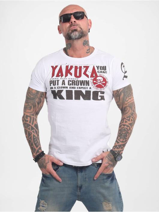 Yakuza Tričká Dead Punk biela