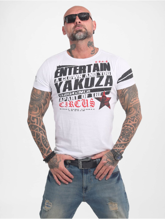 Yakuza Tričká Entertain biela