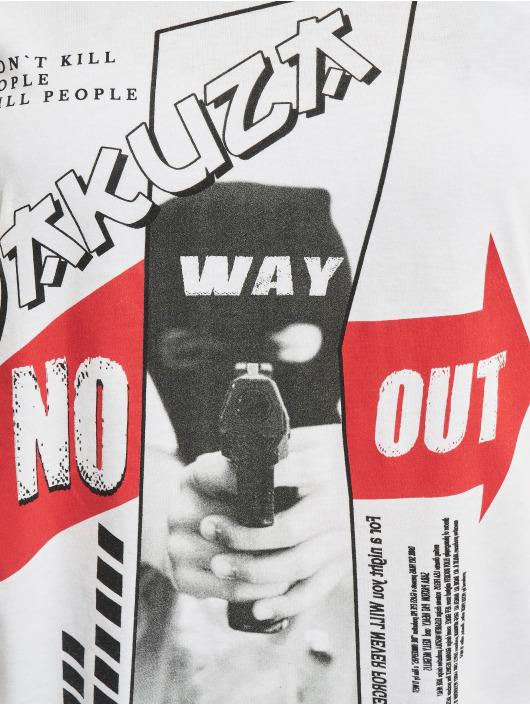 Yakuza Tričká No Way Out Box Fit biela