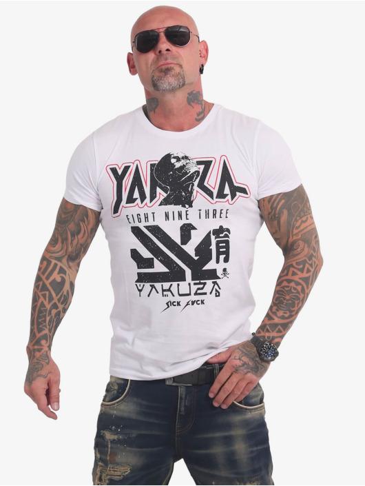 Yakuza Tričká Nippon Zombie biela