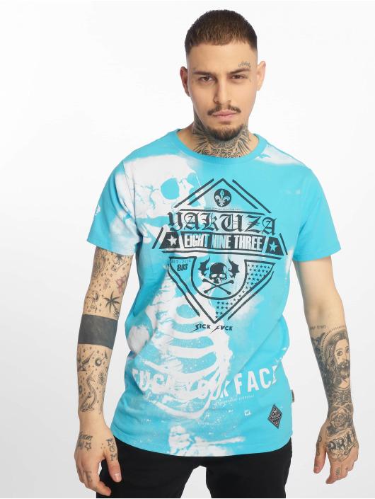 Yakuza Tričká Xray modrá