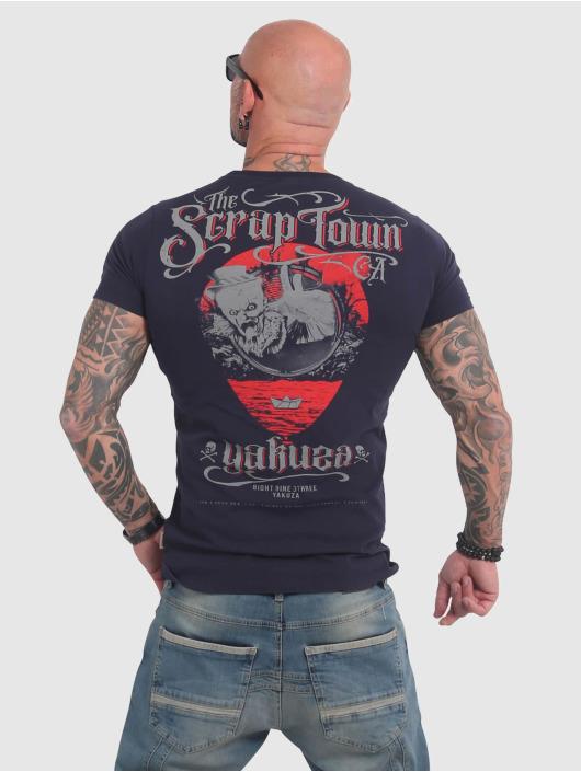Yakuza Tričká Scrap Town modrá