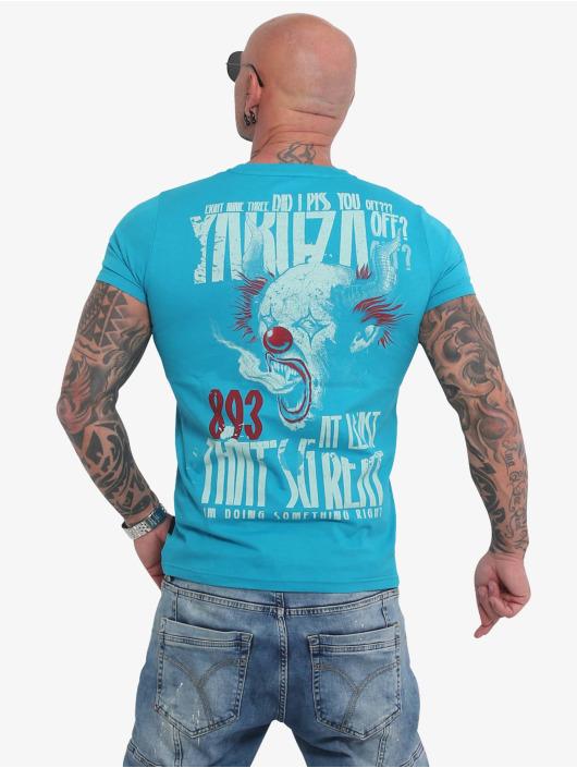 Yakuza Tričká Piss Off modrá