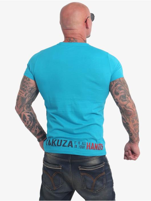Yakuza Tričká Carnal modrá