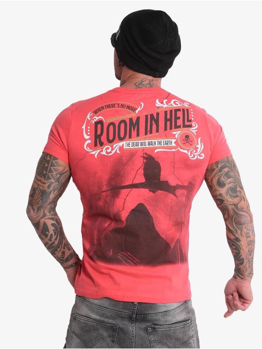 Yakuza Tričká Room In Hell ružová