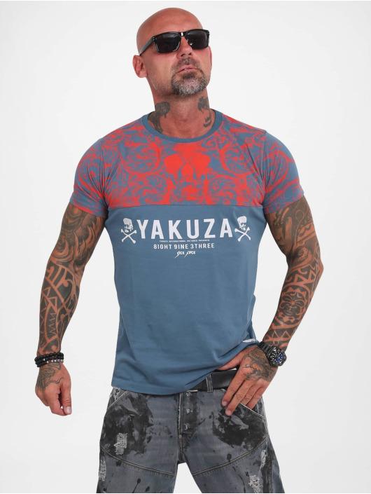 Yakuza Tričká Ornamentic Skull tyrkysová