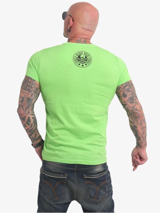 Yakuza Tričká Inner Circle zelená
