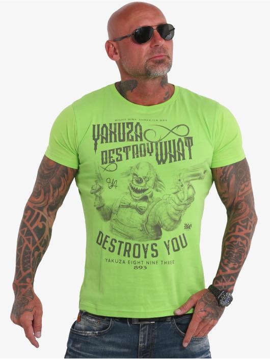 Yakuza Tričká Destroys U zelená