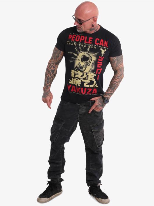 Yakuza Trika People čern