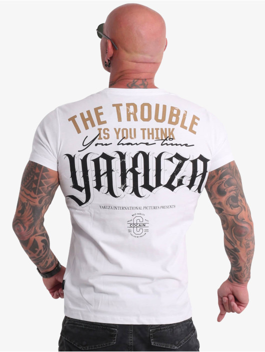 Yakuza Trika FckU bílý