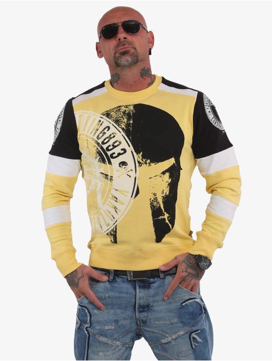 Yakuza trui Spartan Two Face geel