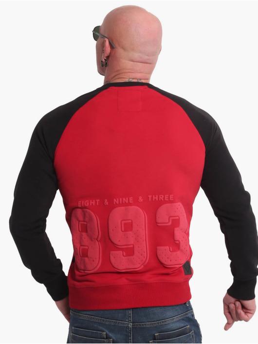Yakuza trui History Raglan rood