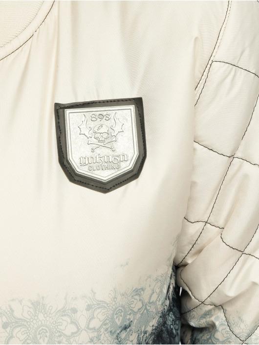 Yakuza Übergangsjacke Gradient Baseball beige