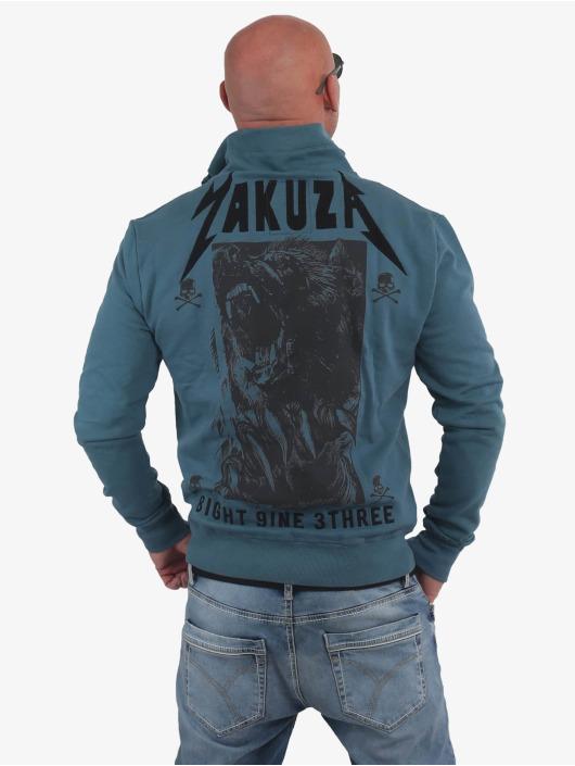 Yakuza Übergangsjacke Beast blau