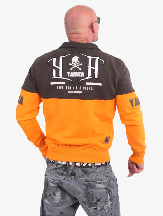 Yakuza Übergangsjacke Guns Vs People Classic orange