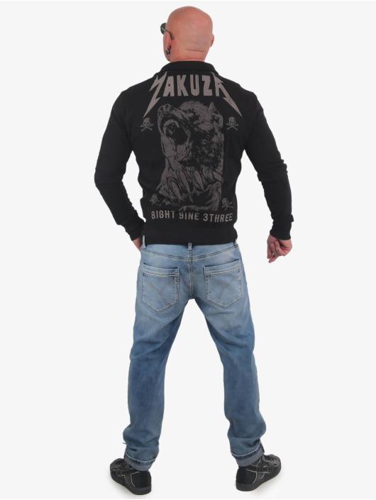 Yakuza Übergangsjacke Beast schwarz