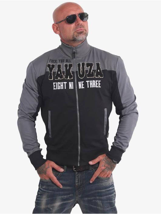 Yakuza Übergangsjacke FYA schwarz