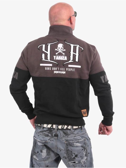 Yakuza Übergangsjacke Guns Vs People Classic schwarz