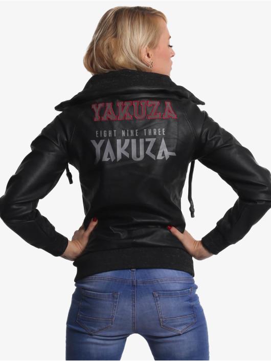 Yakuza Übergangsjacke Fibre schwarz