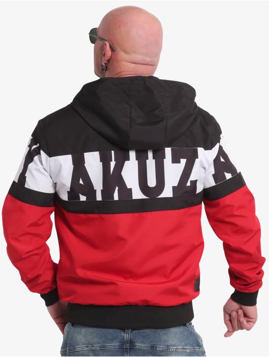 Yakuza Übergangsjacke Tri Star schwarz