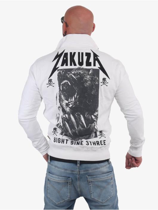 Yakuza Übergangsjacke Beast weiß