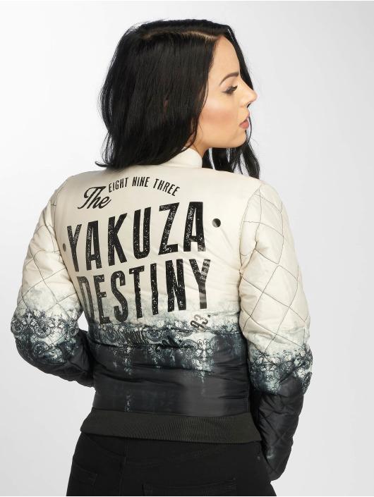 Yakuza Veste mi-saison légère Gradient Baseball beige