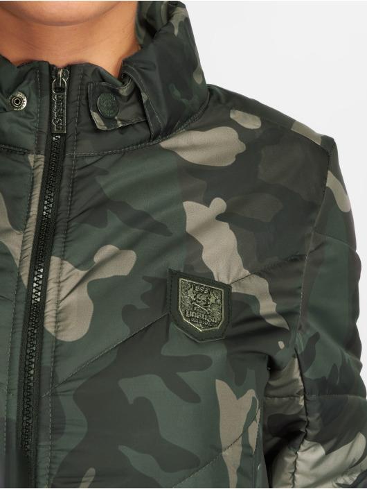 Femme Veste saison 488510 Camouflage Mi Légère Lily Yakuza Padded Lq54ScR3Aj