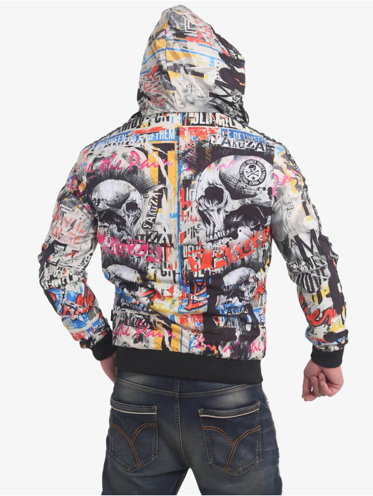 Yakuza Veste mi-saison légère Sick Allover multicolore