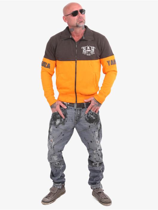 Yakuza Veste mi-saison légère Guns Vs People Classic orange