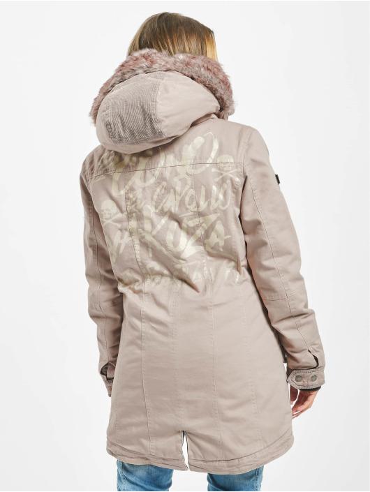 Yakuza Winter Jacket El Bastardo Faux Fur beige