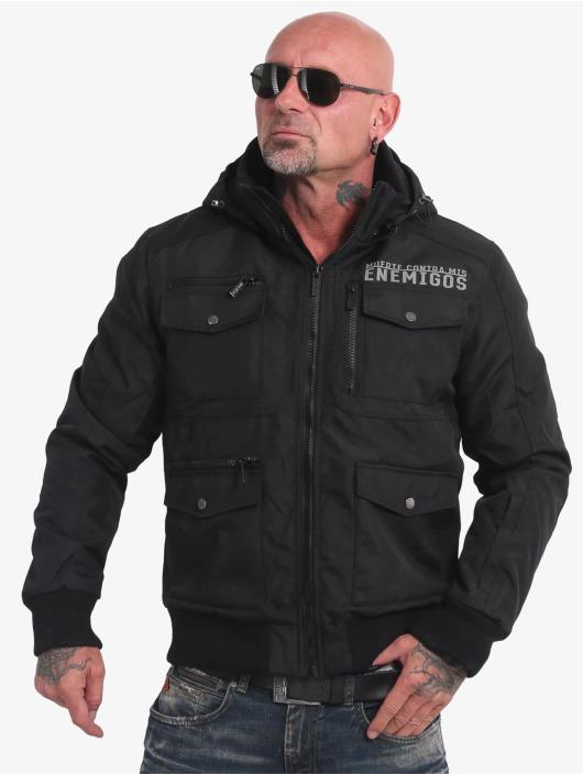 Yakuza Winter Jacket Horned black