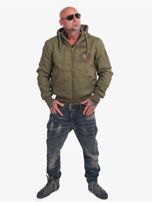 Yakuza Winter Jacket Rookie olive
